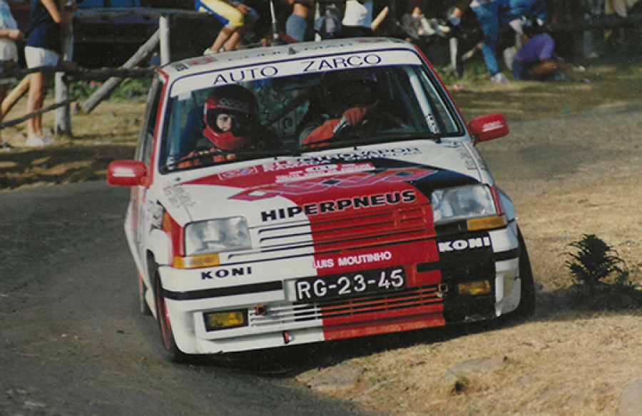 1990 Renault 5 GT Turbo Grupo A